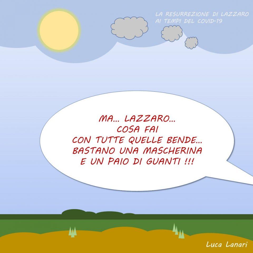 vignetta vangelo Lazzaro